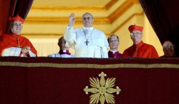 ... pope pope francis has been elected to succeed pope benedict and this