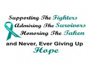 Ovarian Cancer fight For my mother. The strongest women I know.
