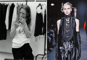 "... rebellion in it."" — Ann Demeulemeester , Belgian fashion designer"