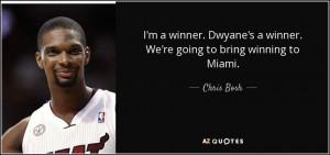 Chris Bosh Quotes