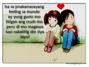 ... nakatitig siya sayo1 Tagalog Quotes About Crush Tagalog Love Quotes