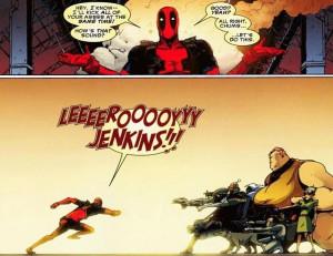 ... Jenkins, Funny, World Of Warcraft, Book Character, Deadpool, Superhero