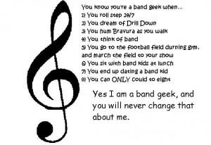 Band Geek Pride. by BandLuvr