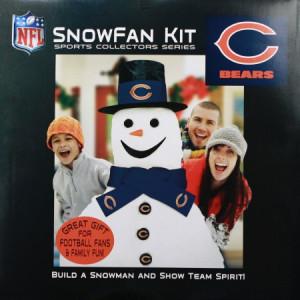 Chicago Bears Snowman...