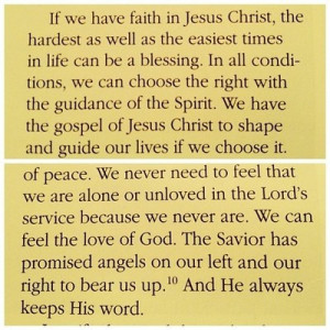 Mountains to Climb- President Henry B. Eyring
