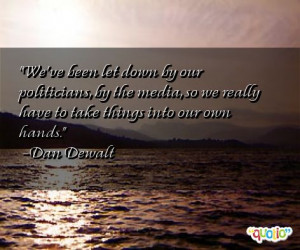 Let Down Quotes