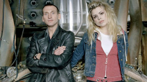 ... and actress Billie Piper as Rose Tyler in Doctor Who Source: Supplied