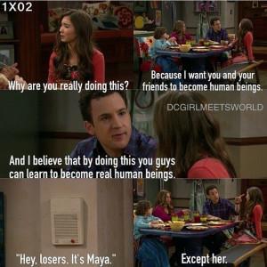 Maya Interrupts Riley & Cory Matthew's Deep Conversation On Girl ...