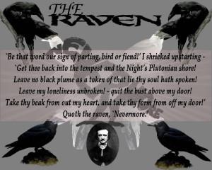 Raven Edgar Allan Poe Quotes The raven (wallpaper 2),