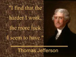 Thomas Jefferson Slogan