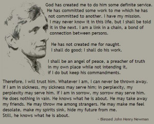 , Cardinals John, Definition Service, John Henry Newman, Blessed John ...
