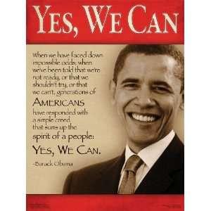 President Barack Obama Quotes Poster Series Set of 10