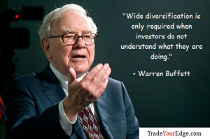 Wide diversification is only required when investors do not understand ...