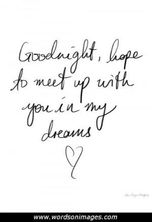 sexy goodnight quotes