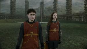 Harry et Ginny lors des sélections de l' équipe de Quidditch de ...