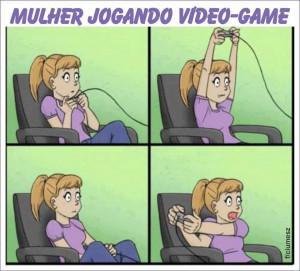 ... para facebook, Imagens para Facebook mulheres jogando video game