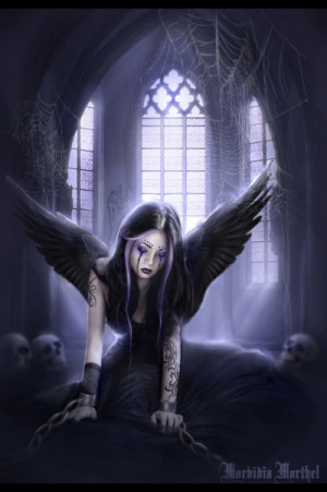 Gothic Angel... by MorbidiaMorthel