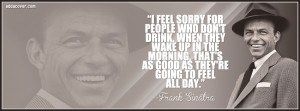 Frank Sinatra Quote Facebook Covers