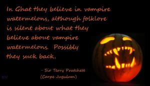 Discworld quote by Terry Pratchett, Carpe Jugulum, by Kim White