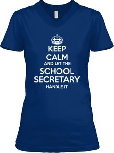 Limited Edition - SCHOOL SECRETARY