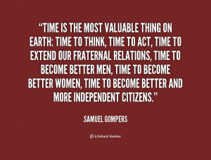 quotes of the day samuel gompers