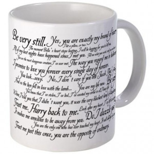 Bella Gifts > Bella Coffee Mugs > Edward Cullen Quotes Mug