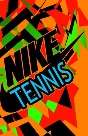 nike tennis wallpaper by thenakedgun52 customization wallpaper iphone ...