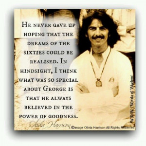 Beautiful quote about George
