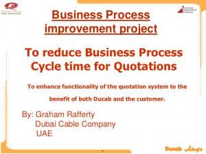 Business Process Improvement Quotes