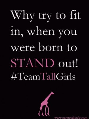 Stand Tall :: Stand Out!
