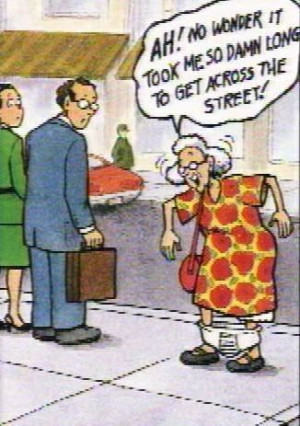 The Funny Things About Getting Old - bits-and-pieces Photo