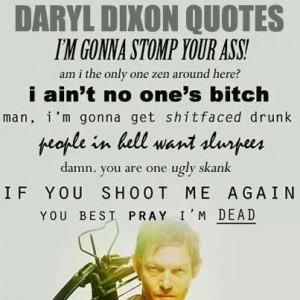 Daryl Dixon quotes The Walking Dead