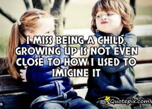Growing up with the older, being youngest