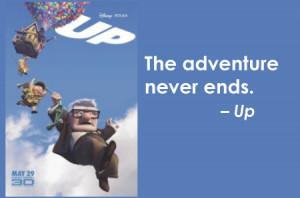 Disney Movie Up Quotes