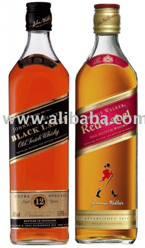 Johnny Walker Red Label Whiskey