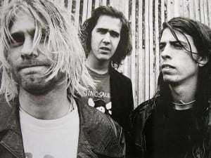 Novoselic (middle) says the vaults are clean