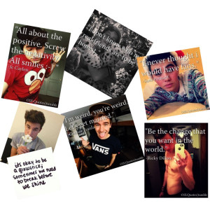 O2l Quotes An art collage from February