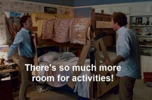 we just put marlee and lilys bed as bunk beds and i totally felt this ...