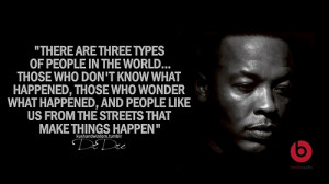 ... 12, 2014 December 4th, 2014 Leave a comment topic Dr Dre quotes