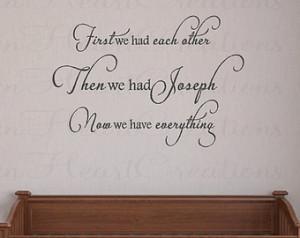 ... Baby Name Nursery Girl Boy Poem Quote Saying 22