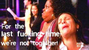 Glee Mercedes and Rachel Deny the Rumors