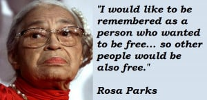 Rosa Parks Quotes Life Bus...