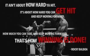 Boxing Quotes From Rocky