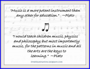 the ages take these quotes from plato on music education