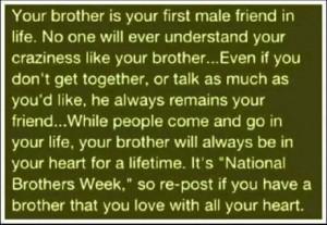 National Brothers Week