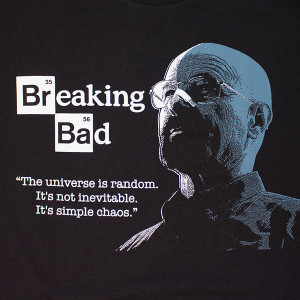 Breaking Bad Universe Quote Tee Black