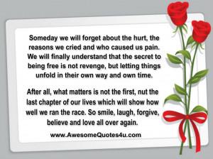 Hurt Feelings Poems...