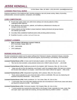 registered nurse resume objective