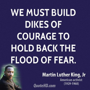 martin luther king jr quotes about courage