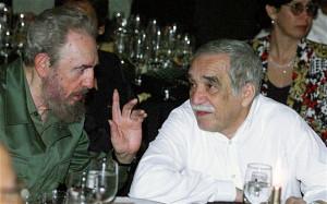 Gabriel García Márquez with Fidel Castro in 2000 Photo: ADALBERTO ...